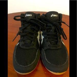 Boy's ASICS Matflex Wrestling Shoes